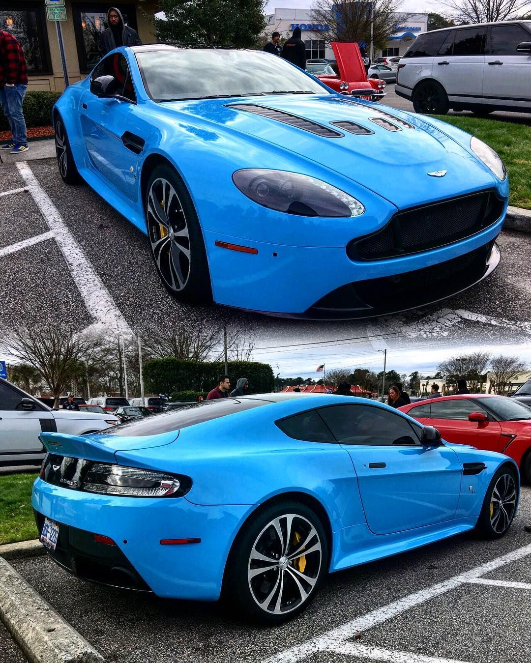 Enjoy This Gorgeous Aston Martin V12 Vantage S {Took These