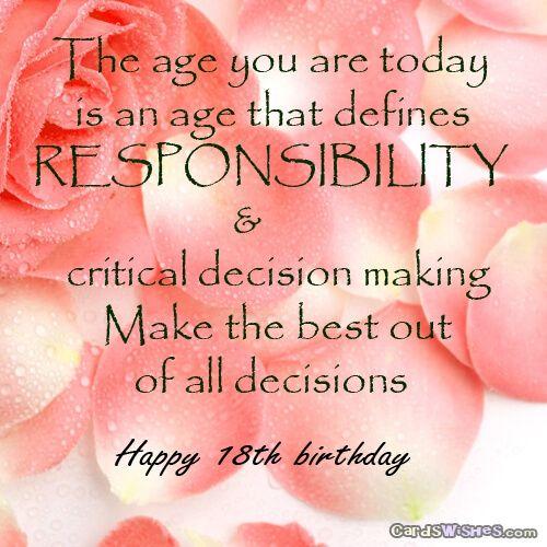 Happy 18th birthday birthday wishes pinterest explore happy birthday birthday wishes and more happy 18th birthday m4hsunfo