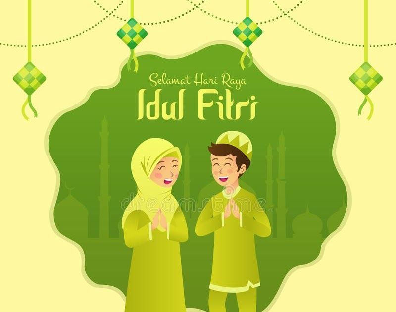 Fantastis 30 Gambar Kartun Muslimah Hari Raya Selamat Hari Raya Idul Fitri Is Another Language Of Happy Download 223 Best Muslim Images Di 2020 Kartun Gambar Art
