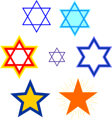 The Star Of David Is A Six Pointed Star Formed By Two Interlocking