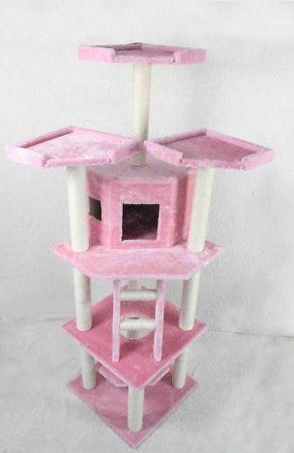 Rooms Transformed Into Overhead Cat Playgrounds With Walkways And Platforms This Way Come Furniture Scratches Cat Furniture Cat Tree Condo
