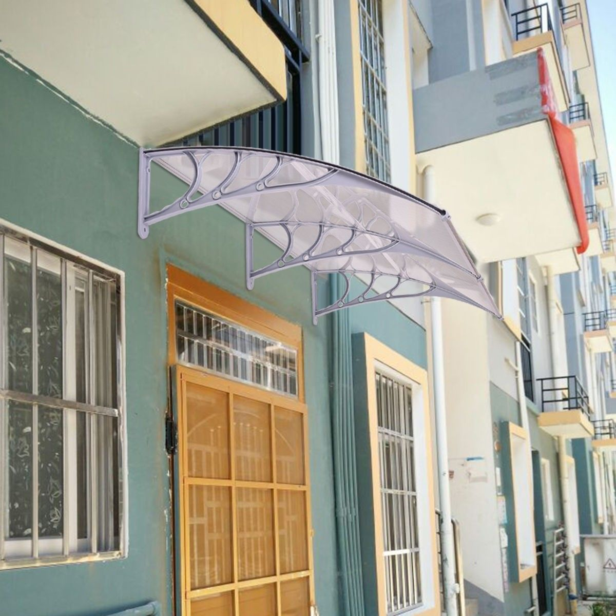 80 X 40 Outdoor Window Awning Door Polycarbonate Canopy Outdoor Window Awnings Canopy Outdoor Canopy Tent Outdoor