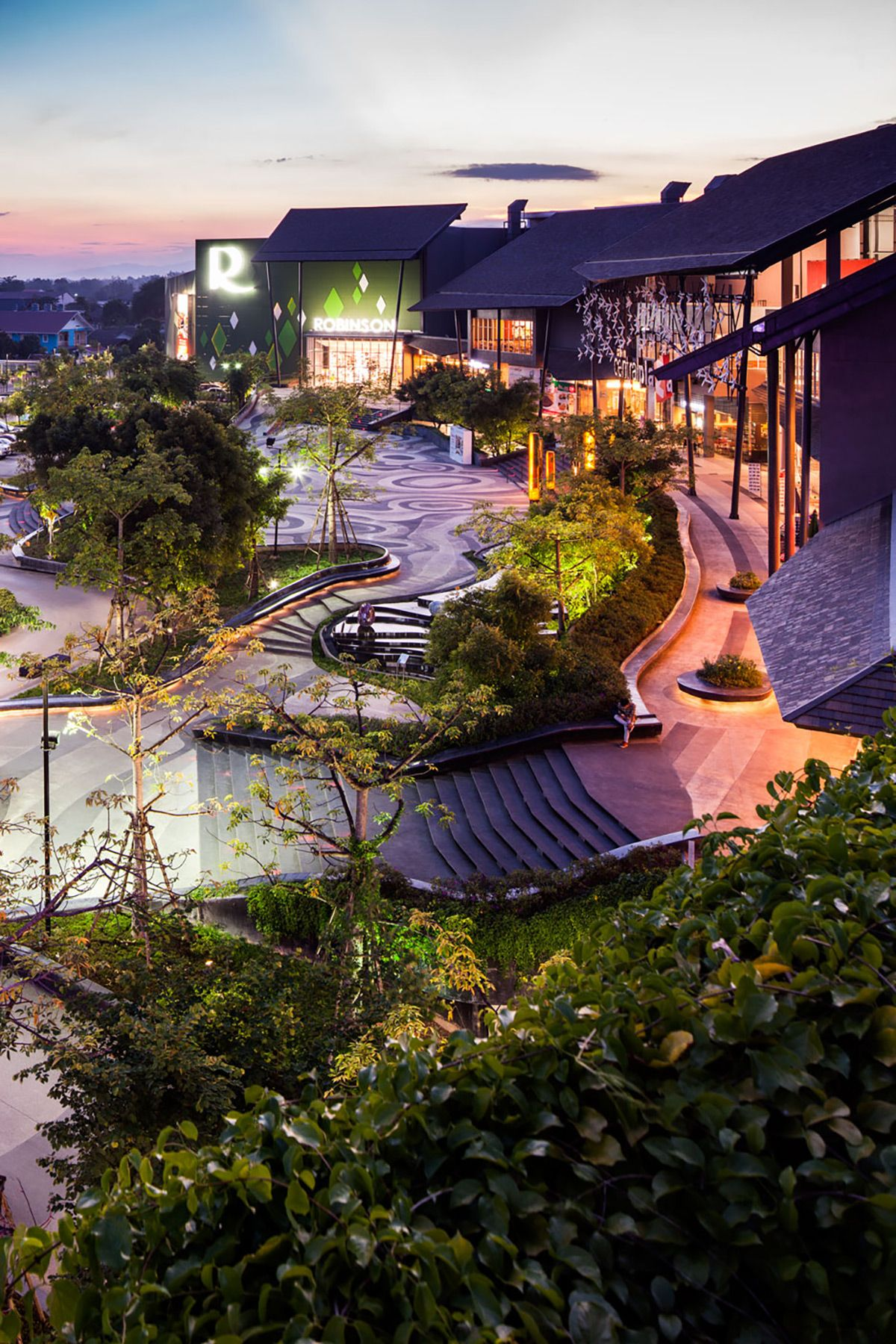 Central festival chiang rai landscape design software