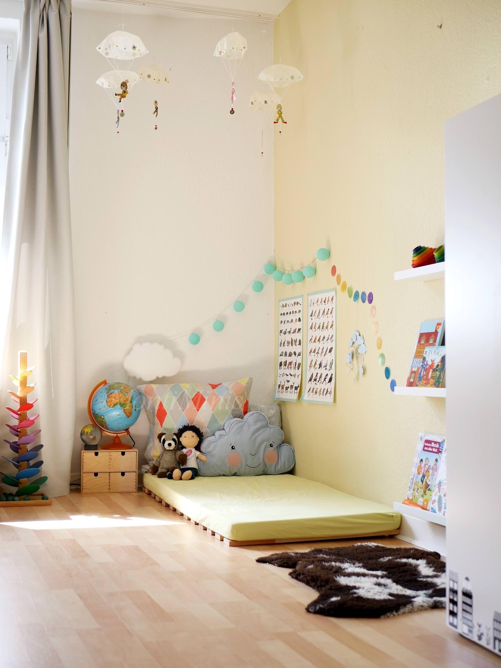Michels Kinderzimmer mit 2,5 Jahren - MontiMinis | Kinder ...