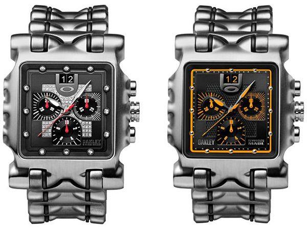 a2a1c81d2024f Oakley Minute Machine Unobtainium Strap Watch
