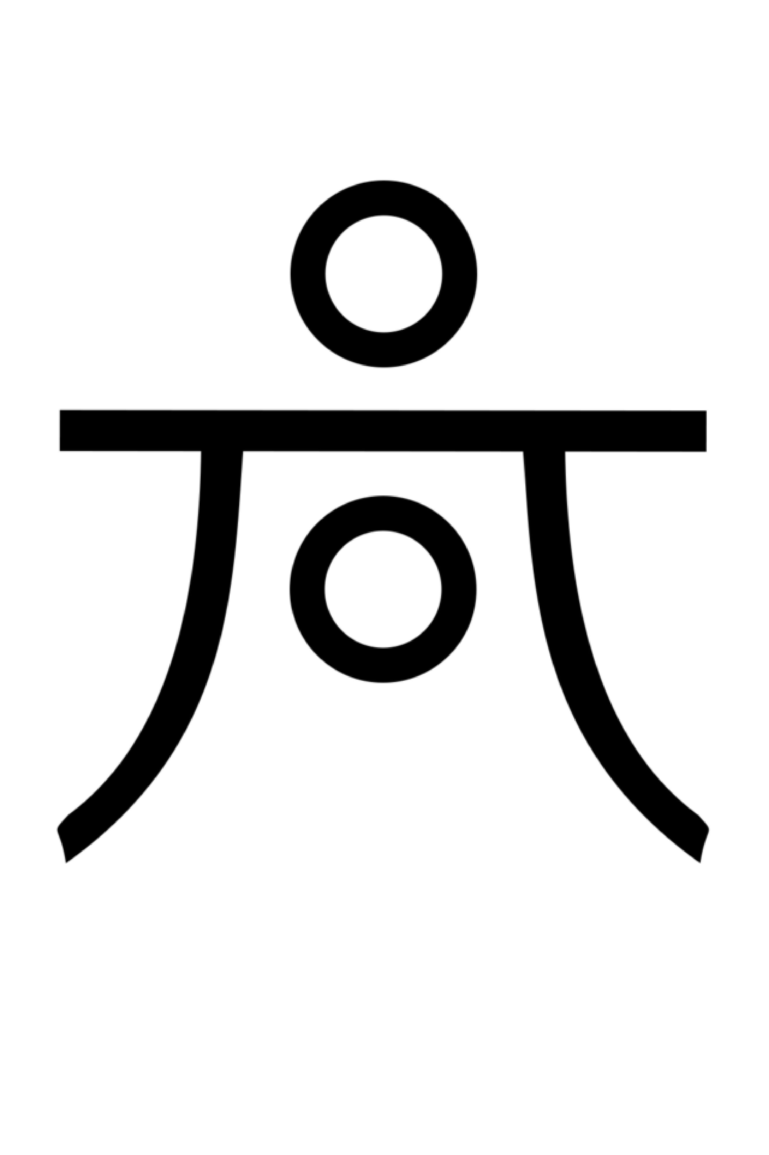 Haumea Astrological Symbol Depicts A Combination Of The