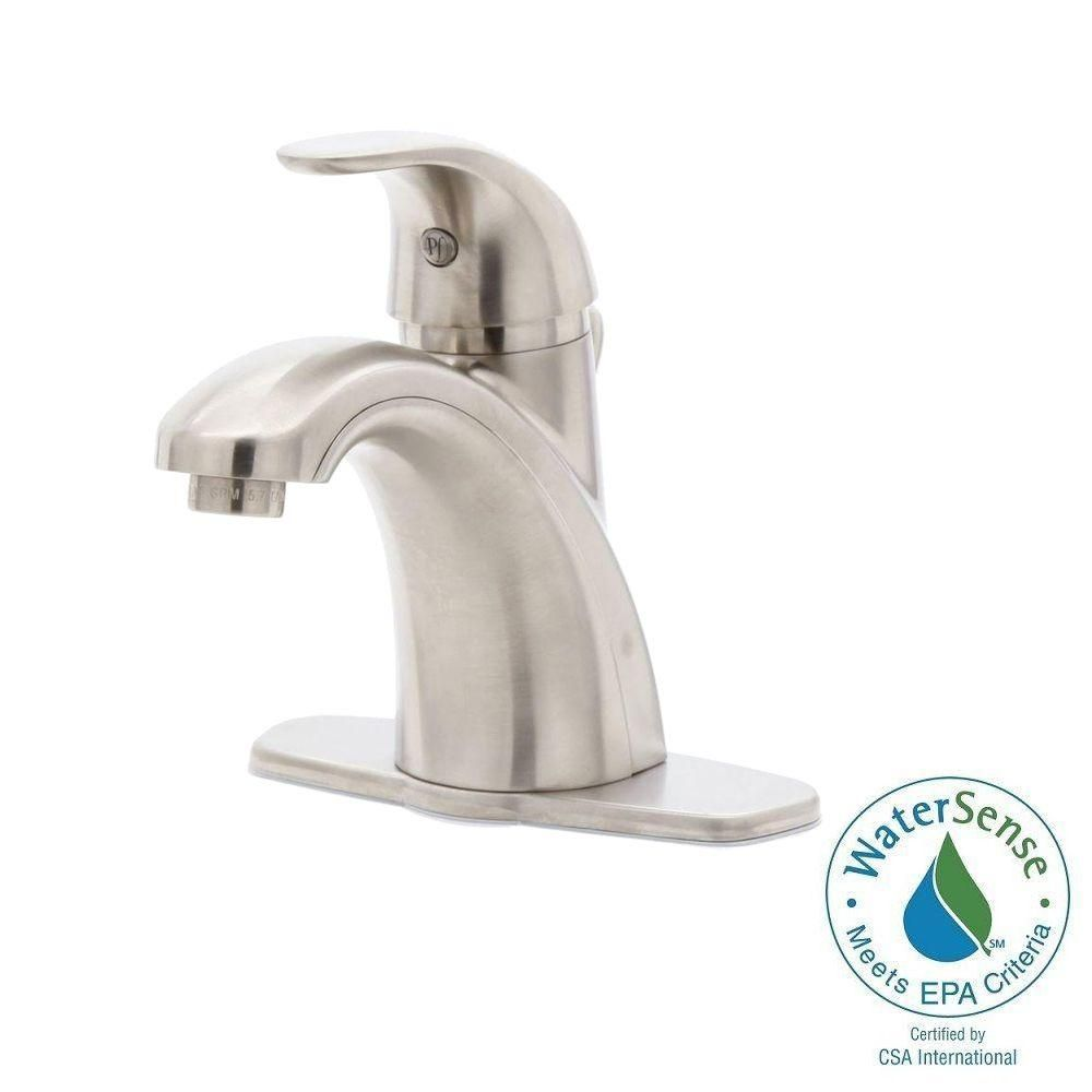 Salle De Bain Wittenheim ~ Pfister Parisa 4 In Centerset Single Handle Bathroom Faucet In