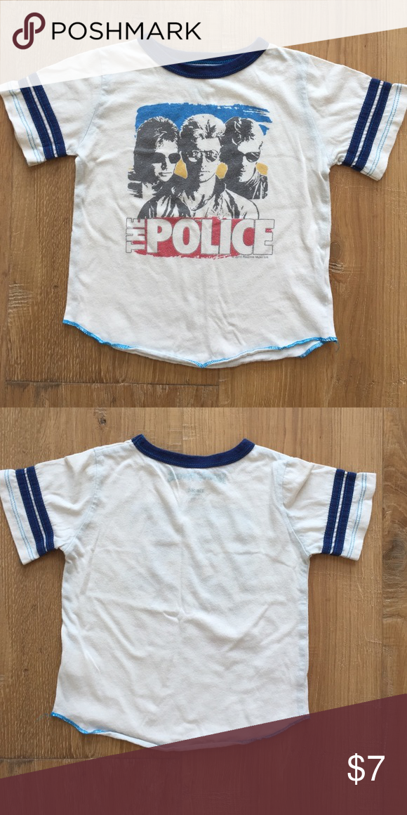 1aace7358 Toddler boys vintage band tee - The Police - 18-24 Toddler boys vintage band  tee - The Police - 18-24 Rowdy Sprout Shirts & Tops Tees - Short Sleeve