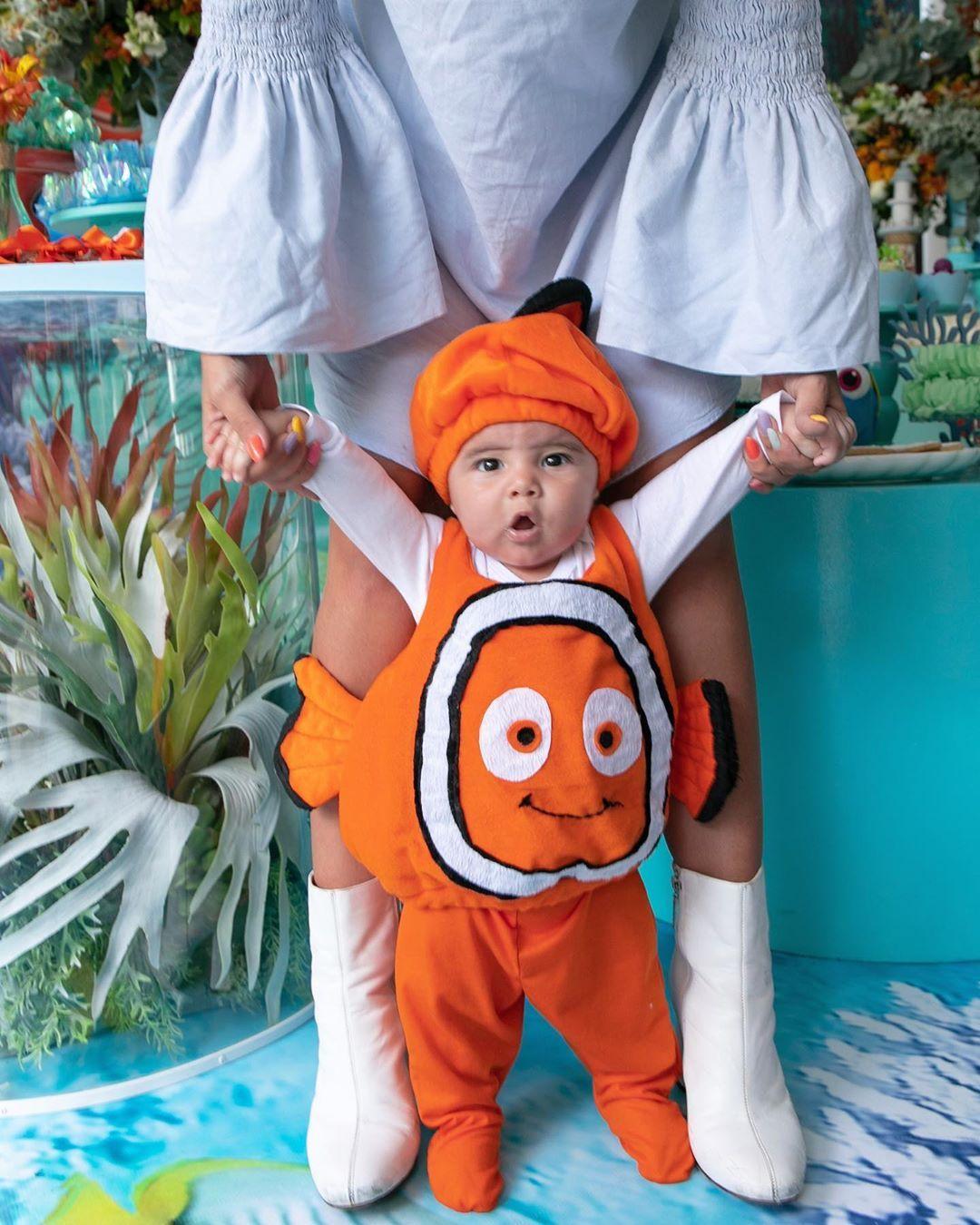 Oi Eu Sou O Nemo Babyzion 4 Meses Do Meu Neneeeeim Obrigada Tia