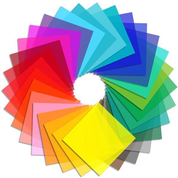 Oracal 8300 Transparent Vinyl - All Colors Bundle - Swing Design ...