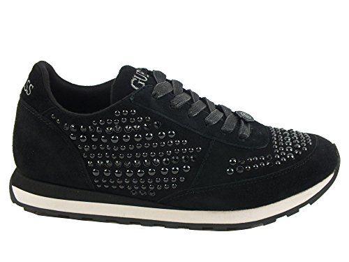 GUESS Sneakers donna PELLE TESSUTO NERO BLACK in OFFERTA su www.kellieshop.com Scarpe, borse, accessori, intimo, gioielli e molto altro.. scopri migliaia di articoli firmati con prezzi da 15,00 a 299,00 euro! #kellieshop Seguici su Facebook > https://www.facebook.com/pages/Kellie-Shop/332713936876989