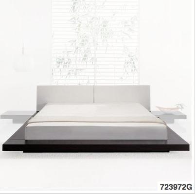 Bed With Attached End Tables Bed Frame Bed Platform Bed Frame
