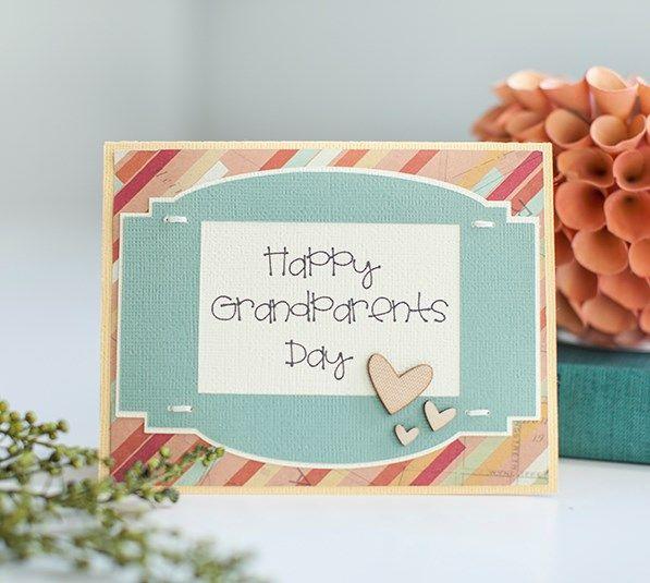 Cricut Design Space Grandparents Day Cards Card Making Grandparents Card