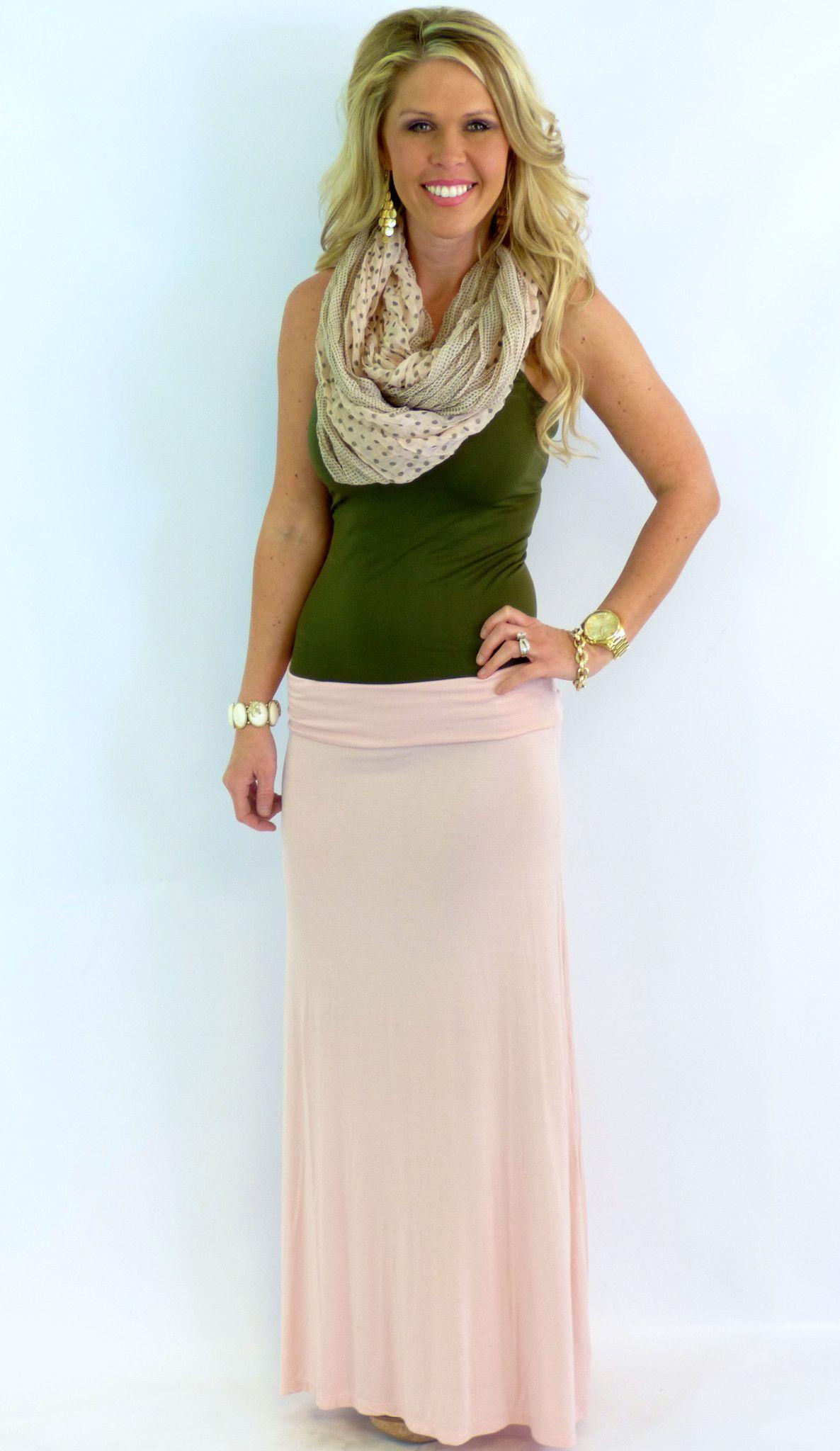 Basic long maxi skirt dusty rose long maxi skirts dusty rose and