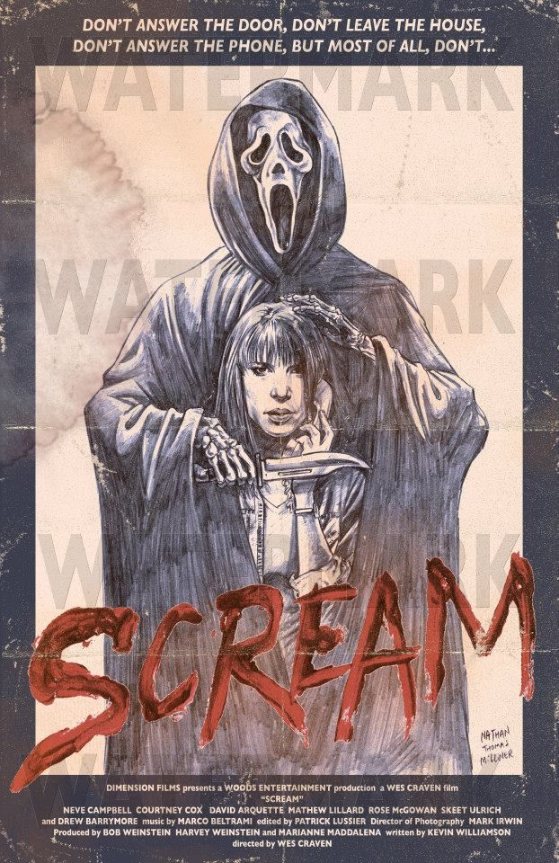 Horror Movie Posters Art