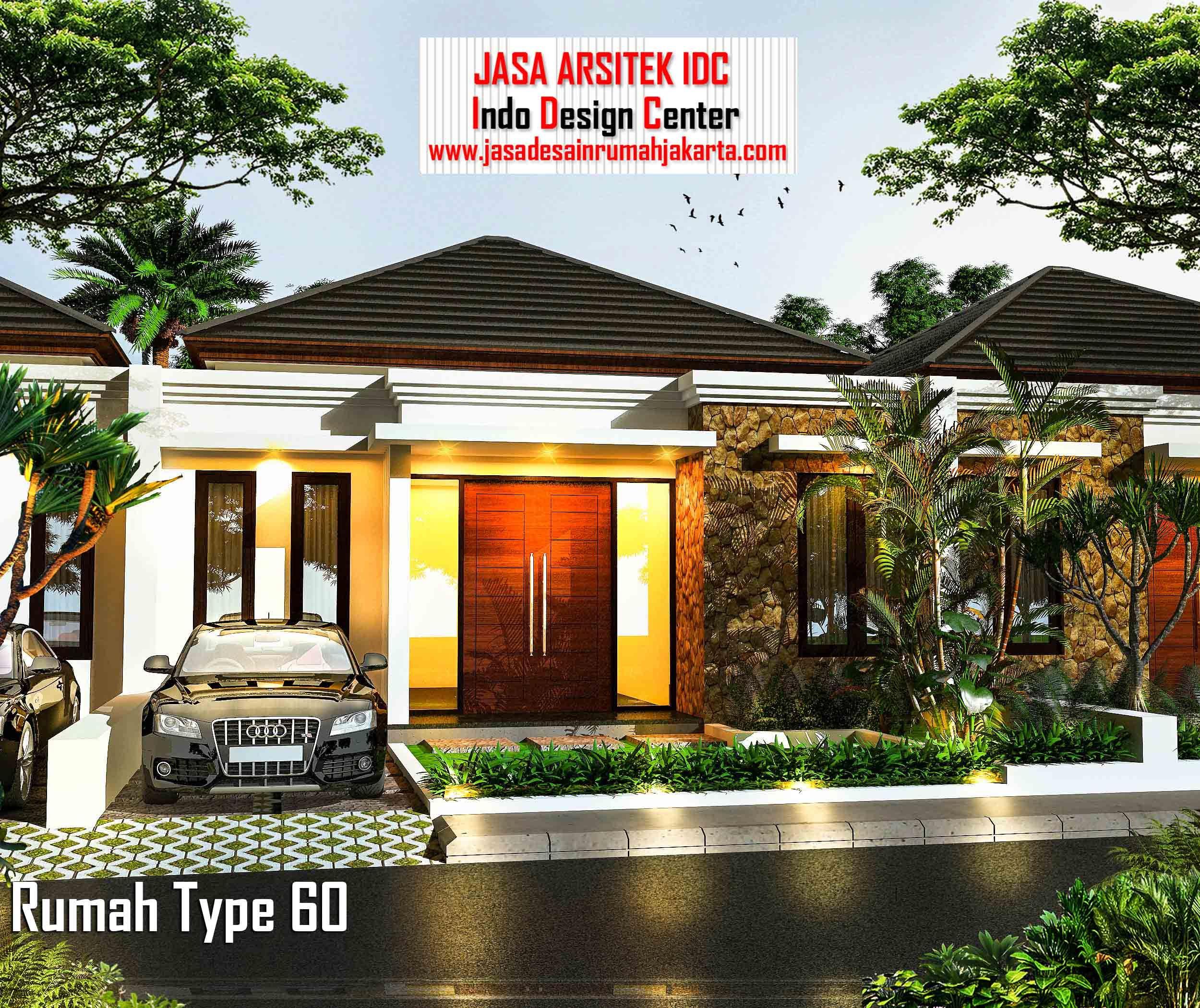 Desain Rumah Minimalis Type 60 Terbaru dan Tampak Depan ...