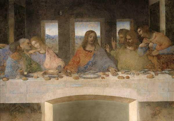 Leonardo da Vinci - Das Abendmahl - jetzt bestellen auf kunst-fuer-alle.de