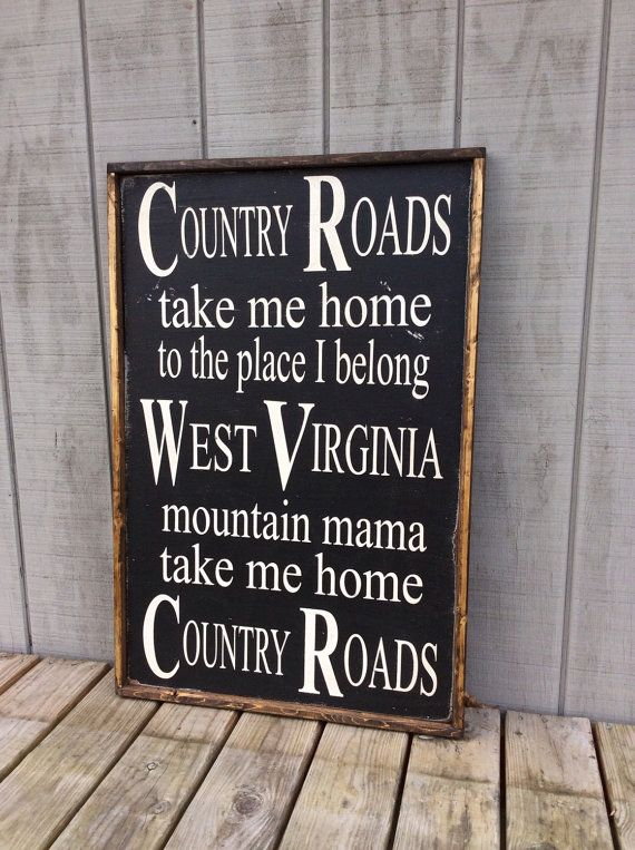 west virginia roads song » Full HD MAPS Locations - Another World ...