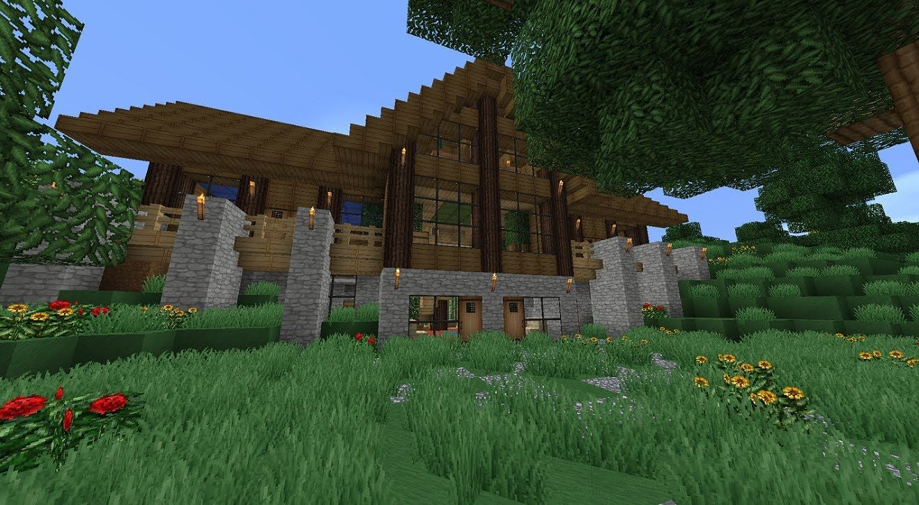 Minecraft Survival House 02 Jpg 1320 726 Minecraft Houses