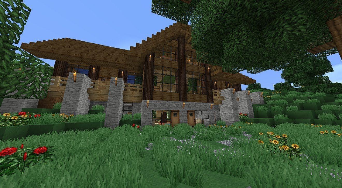 Minecraft Survival House Minecraft Wallpapers Minecraft - Cool minecraft houses survival