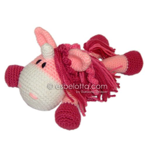 Unicorn or Pony - Amigurumi crochet pattern. | Crochet | Pinterest ...