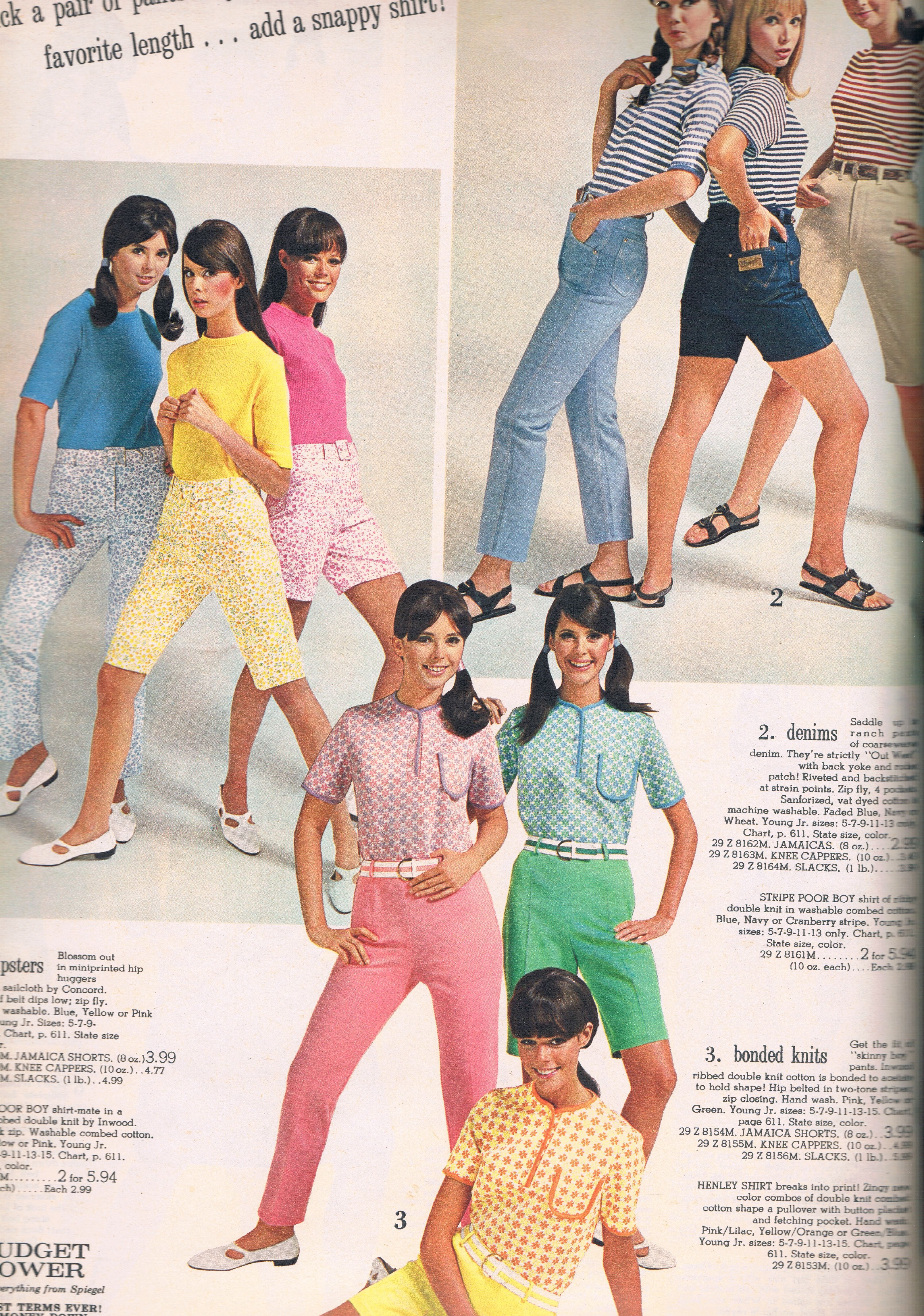 a897ce955f Spiegel 1968 Colleen Corby, Retro Clothing, Themed Outfits, Vintage Shorts, Fashion  Catalogue