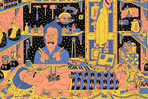 Illustrations by Kyle Platts – view more (unusual) images @ http://www.juxtapoz.com/Current/illustrations-by-kyle-platts – #onourradar #kyleplatts #operation