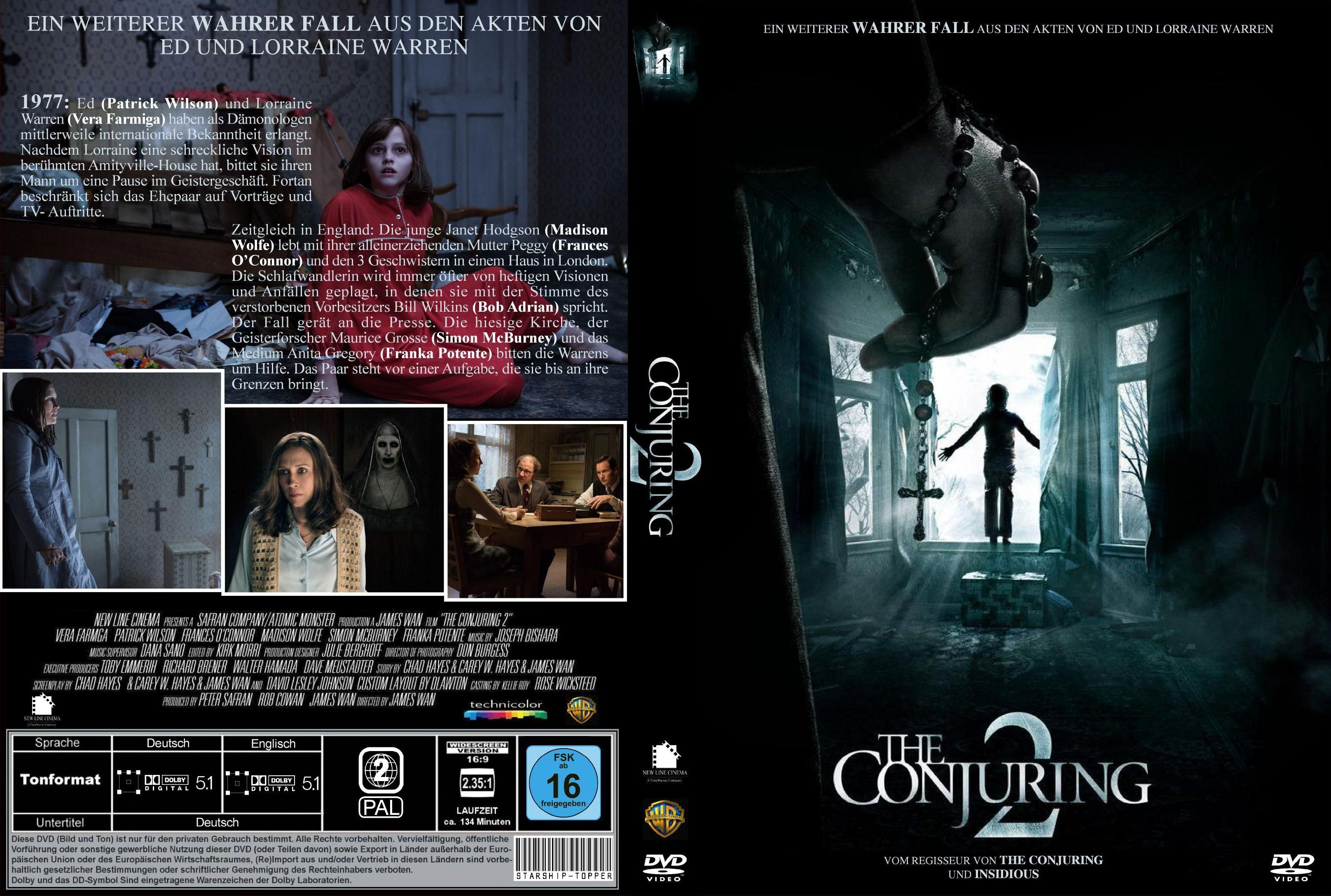 The Conjuring 2 Memorable Lines From The Movie Crooked Man There Was A Crooked Man And He Walked A Crooked Mile The Conjuring Dvd Covers Custom Dvd