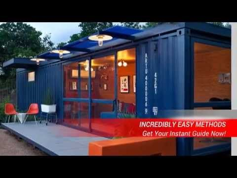 Build A Container Home Shipping Container Home Step By Step Process Youtube Housetainer Container Architecture Shipping Container Homes Building A Co