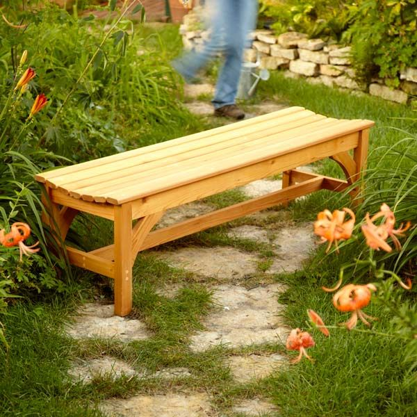 How to Build a Garden Bench DIY Woodworking projects