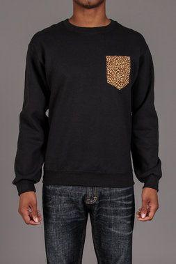 Leopard Crewneck Sweatshirt