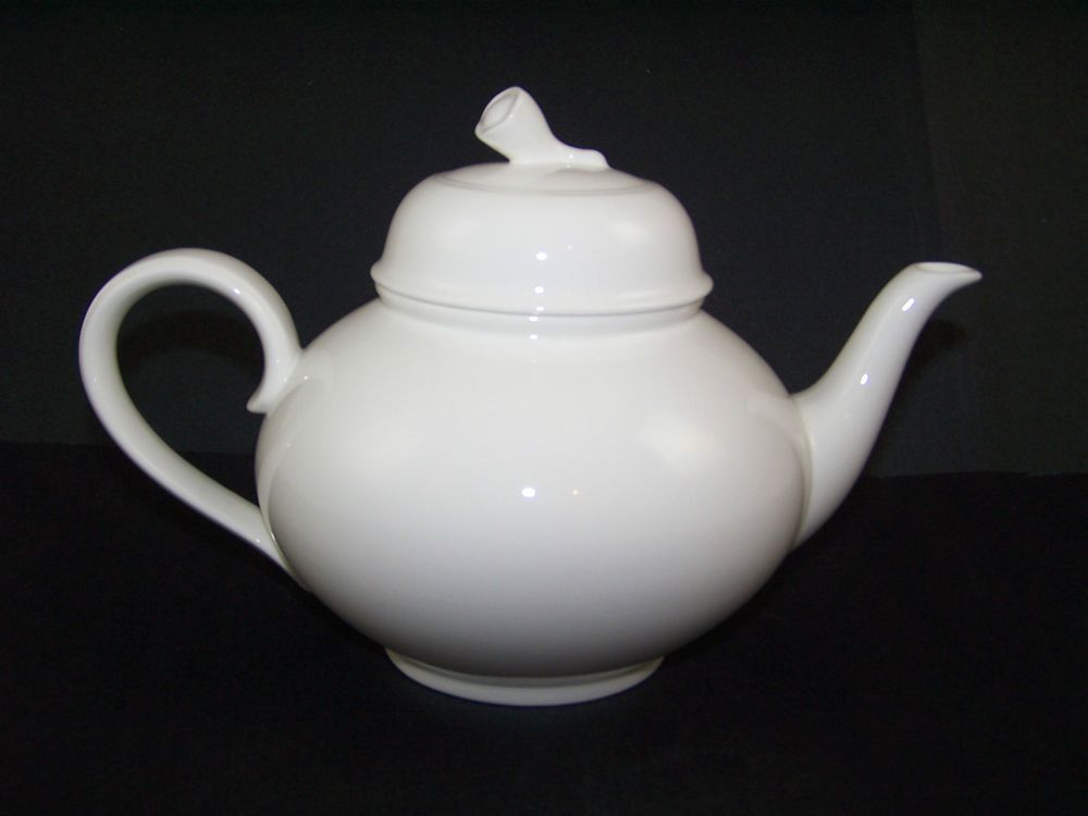 Oneida Sant\u0027 Andrea Teapot Royal Bone China with Lid White 34 Ounce & Oneida Sant\u0027 Andrea Teapot Royal Bone China with Lid White 34 Ounce ...