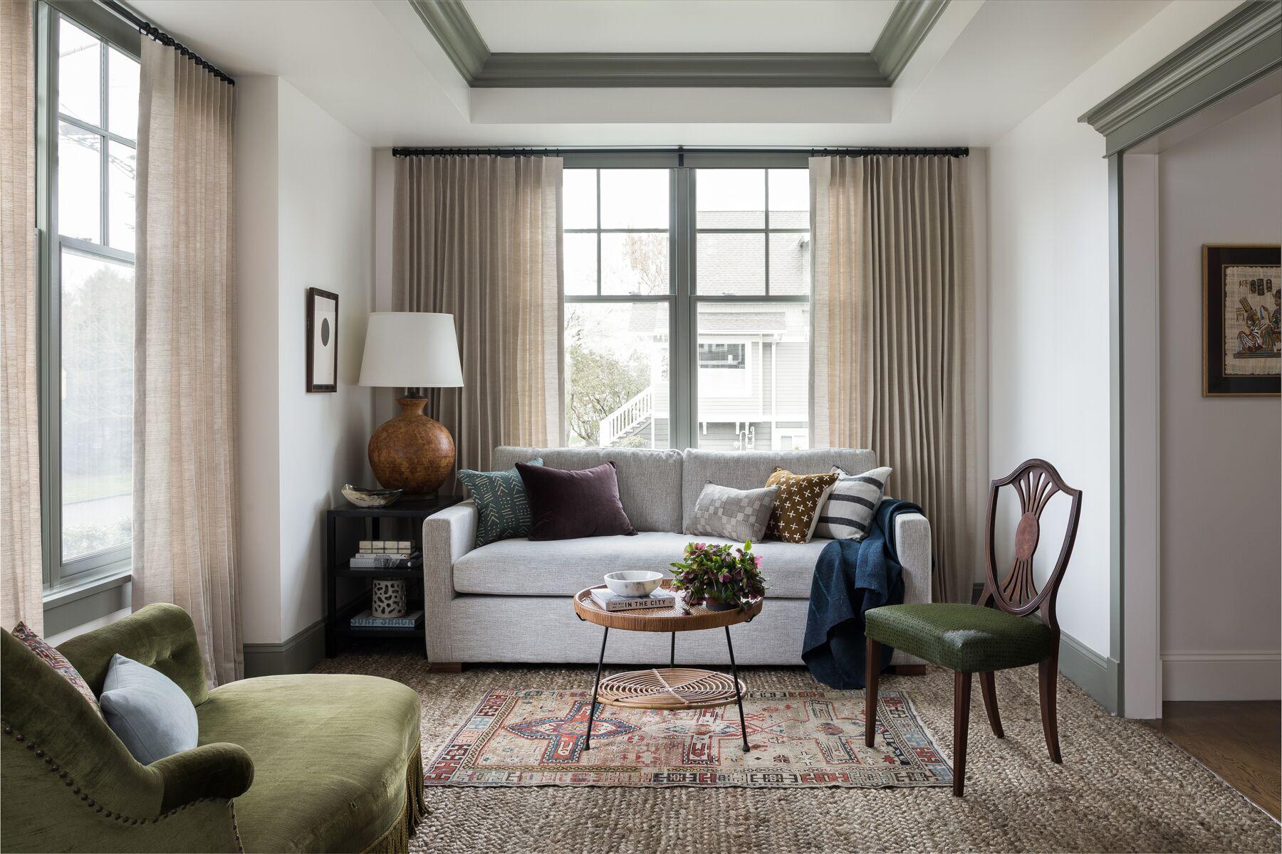 Heidi Caillier Design Seattle Interior Designer Living Room Decor Apartment Interior Design Seattle Homes