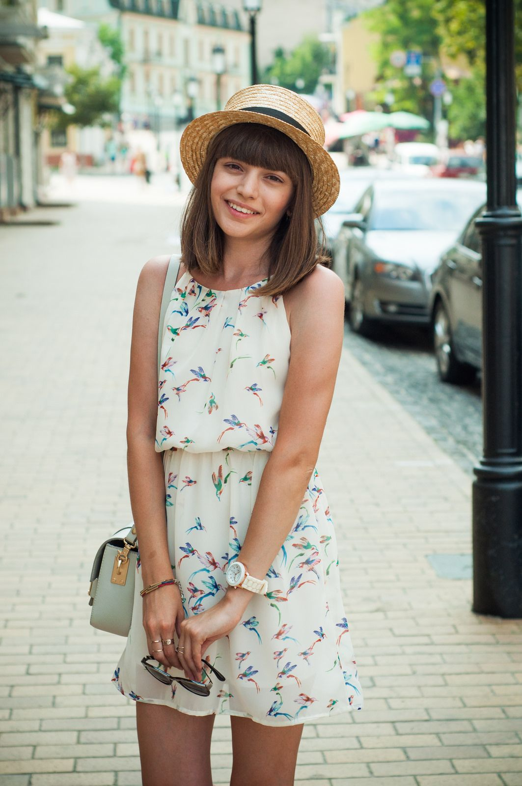 3cb8a207 14 Ways to Wear a Summer Straw Hat: Shot for Animal Arithmetic, via  Chictopia.