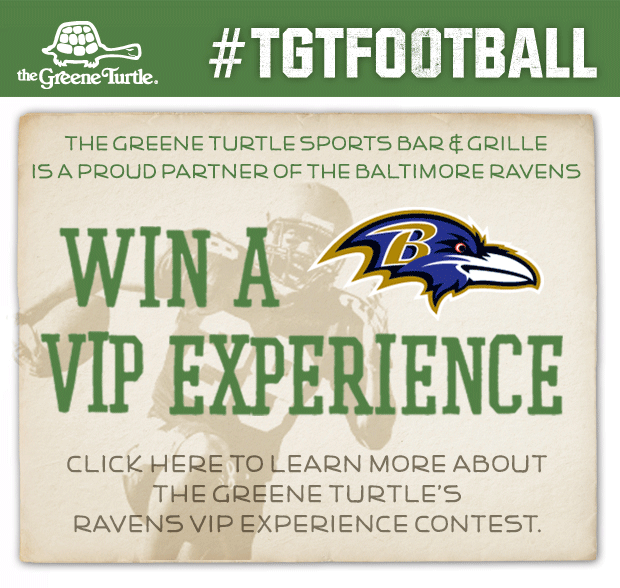 Greene Turtle VIP Game Day Experience