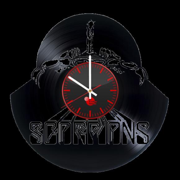 Scorpions Handmade Vinyl Record Wall Clock Cool Design