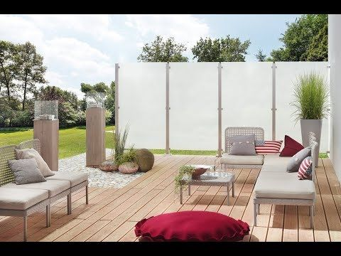 YouTube Sichtschutz glas, Sichtschutz terrasse glas