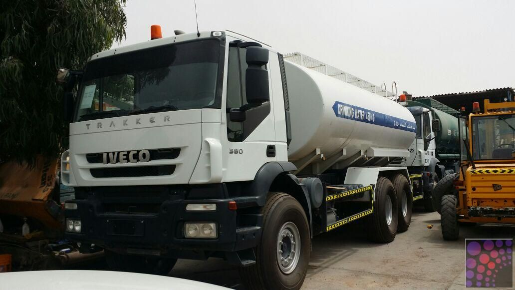 Water Tank Iveco Trakker 380 For Sale Shariah Water Tank Tank Water