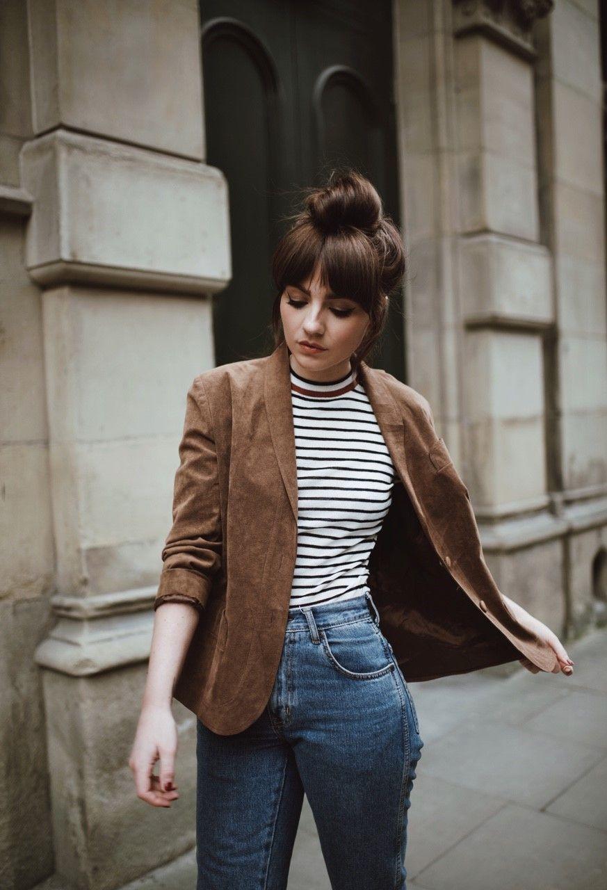 Outfits con jeans para lucir fantástica de día y de noche beauty