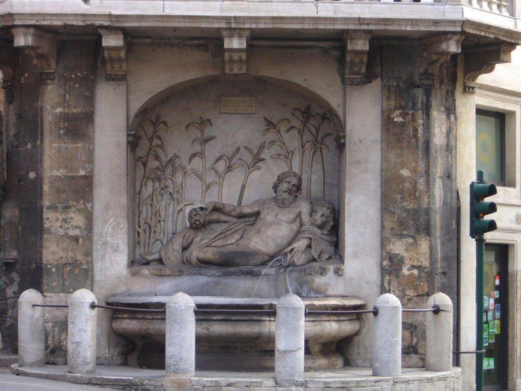 Fontana dell'Arno (Le Quattro Fontane)