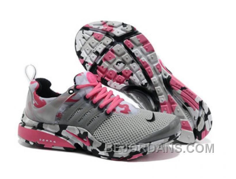 sale retailer b202e c9f17 Buy New Nike Air Presto 2013 Camo Cool Grey Hot Pink Black White 579915 014  Lightweight Shoes