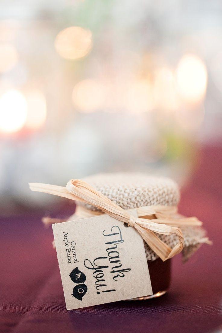 Cute little wedding favor for a fall wedding fall weddingfavors