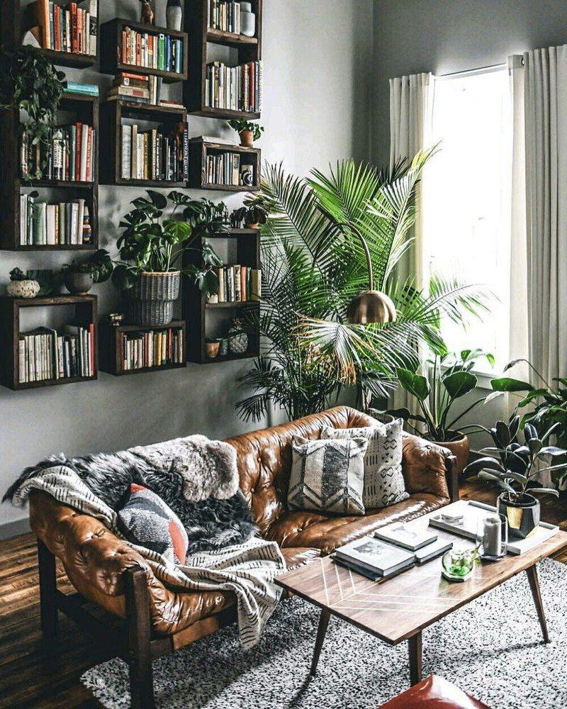 deco jungle urbaine salon   Deco, Décoration maison, Déco maison