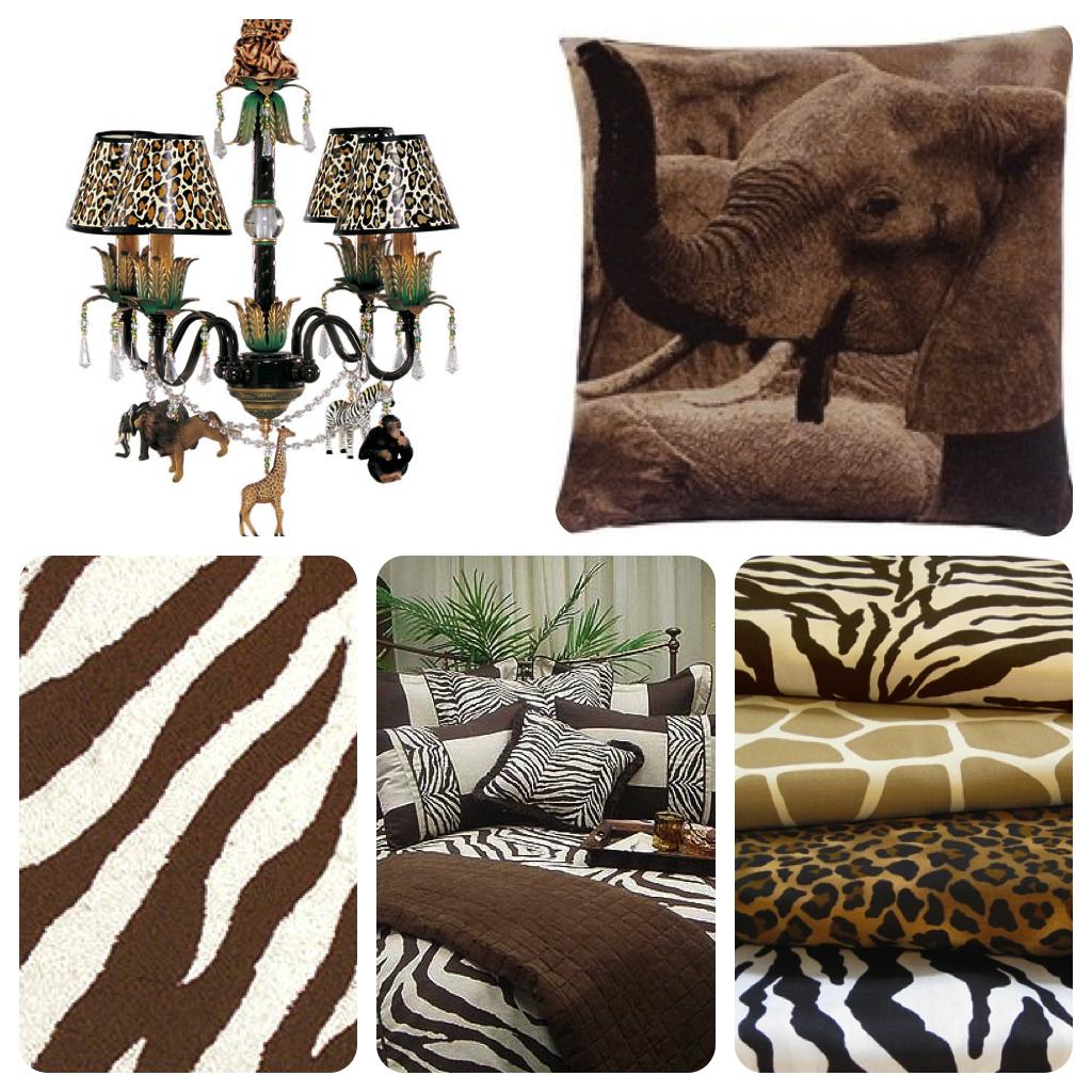 Safari Chic Room Themes Safari home decor, Safari chic
