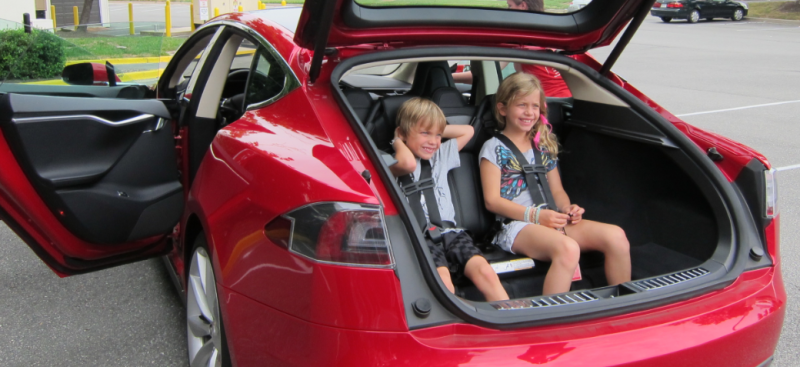 Cops Called After Tesla Model S Owners Put A Child In The Trunk Tesla Model S Tesla Model Tesla