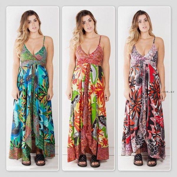 Vestido hippie de fiesta