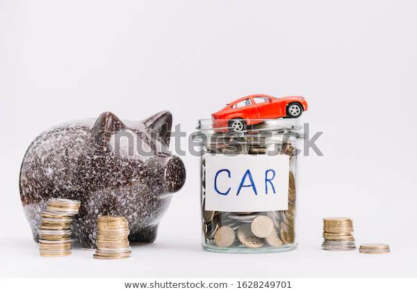 Car Loan Plan Piggy Bank Money Stock Photo Edit Now 1628249701 Di 2020