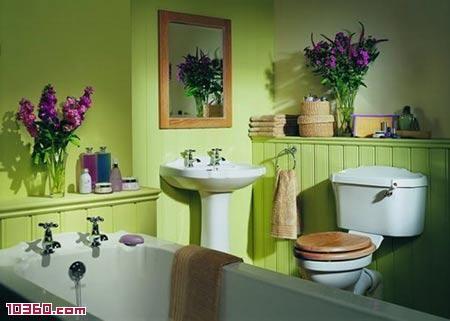Lime Green Bathroom Green Bathroom Bathroom Colors Shabby Chic