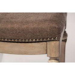 Vetrina Gray Backless Non Swivel Counter Stool With Gray Fabric Stools Stools Accent Furn