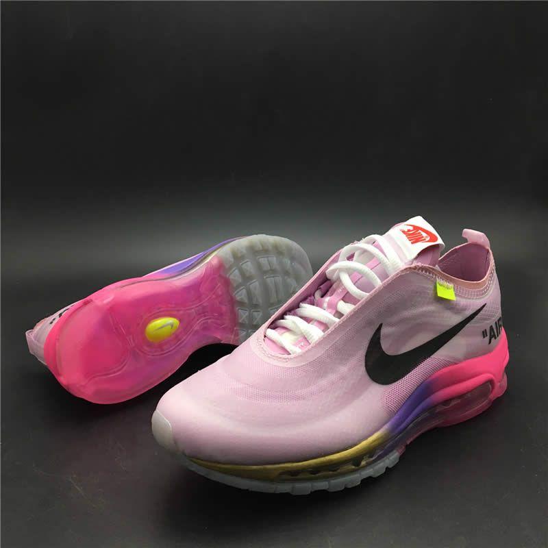 tênis nike air max 97 rosa elemental brc1e9609